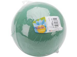 "Wet Foam Ball 6"" 1/Pkg-Green"