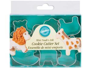 Mini Metal Cookie Cutters 6/Pkg-Noah's Ark