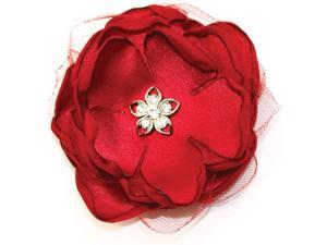 Laliberi Quick Clip Flowers 1/Pkg-Scarlet Red Layers