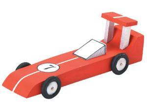 "Wood Model Kit-Race Car 6.25""X2.125"""