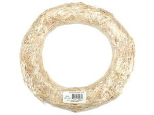 Straw Wreath-14""