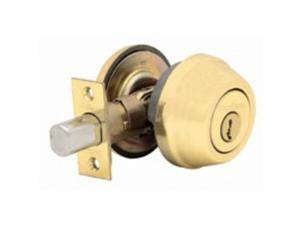Kwikset Corporation 780LO3SMTRCALRCS Single-Cylinder Deadbolt K3 Single Cylinder