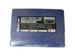 Mintcraft T1220BB90 12-Ft. X 20-Ft. Medium Duty Poly Tarp, Blue