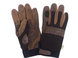 Diamondback BLT-0508-1A-M Working Contractor Gloves Medium Leather - Contractor