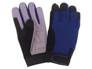 Diamondback GV-965662B-L Synthtc Leather Palm Glove Large Synthetic Leather Thin
