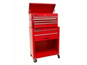 Homak Mfg. Co. Inc. RD07062400 24--inch Chest/Cabinet with 8 Drawers - Steel