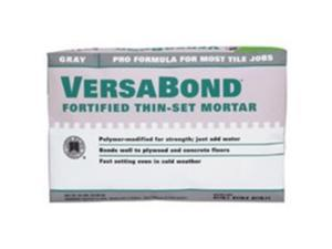 Custom Building MTSG50 Gray Versabond Fortified Thin Set Mortar - 50-Lb
