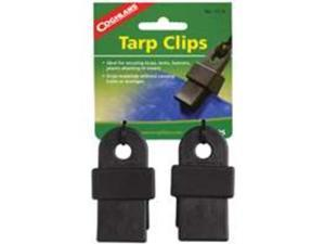 Coghlan's 1014 Nylon Resin Tarp Clips Secure Tarps & Tents & Support 240 lbs