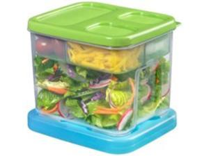 Rubbermaid 1819276 Lunch Blox - Salad Kit
