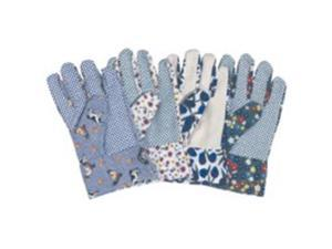 LADIES COTTON GARDEN GLOVES DIAMONDBACK C001 045734900493