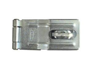 "National Zinc Plated 3-1/4"" Swivel Staple Safety Hasp NATIONAL N226-480"