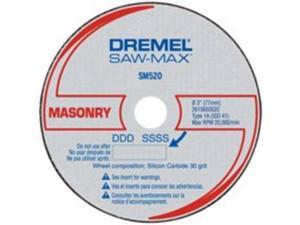SM520C 3 in. Masonry Cut-Off Wheel 3-Pack