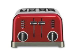 4 SLICE TOASTER RED CUISINART/WARING CPT180MR 086279034540