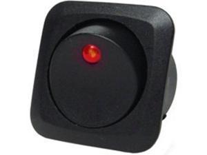 Swtch Rocker 25A Blk Calterm CALTERM INC Switches 40600 Black 046494406003