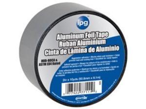 2Inx10Yd Aluminum Foil Tape INTERTAPE POLYMER CORP Foil & Hvac 91412 Aluminum
