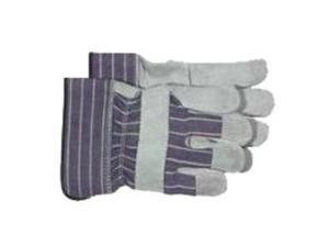 Boss Glove Kids Leather Cuff Glove Gray