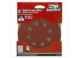 Dsk Sndg 5In 120Grt A/O Rsn ALI INDUSTRIES Sanding Discs - Hook & Loop 3723