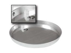 Camco Mfg Inc 20840 22-Inch Aluminum Drain Pan Aluminum - Each