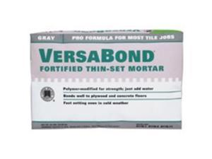 Custom Building MTSG50 Gray Versabond Fortified Thin Set Mortar 50-Lb