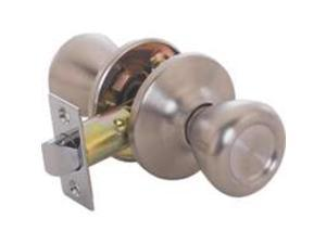 Toolbasix 5764SS-PS-3L Passage Knob Adjustable Latch Stainless Steel Tulip - Eac