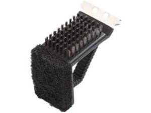 3In1 Grill Brush St Steel TOOLBASIX Grill Accessories - Generic SP242C3L