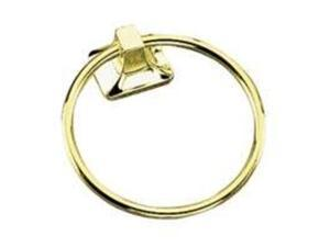 Polished Brass Towel Ring MINTCRAFT Towel Rings CSB3L586 045734997387