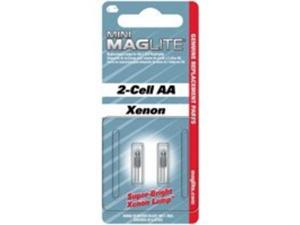 Mag 353301 Flashlight AA Mini Krypton Bulb - Pack of 2