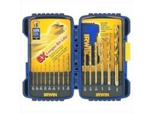 Irwin 15-Piece Titanium Drill Bit Set.