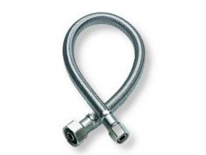 Fluidmaster .38in. X .50in. X 16in. No-Burst Braided Stainless Steel Faucet Connector