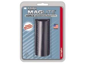 Maglite Light AM2A026 Black Plain Leather Mini-Mag Flashlight Holster/Holder