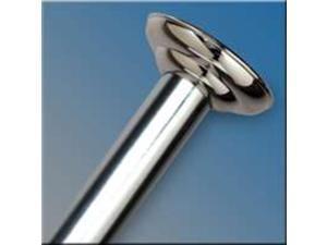 """72"""" Chrome Shower Rod"""