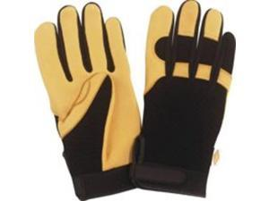 Diamondback BLT-102-L Deerskin Palm Glove Large Pair