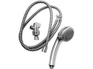 Shower Hand Held 5-Functions PLUMB PAK Shower Heads PP828-52 046224014546