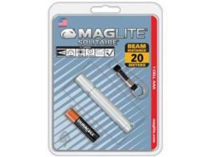 MagLite Solitaire Blister Pack, Silver