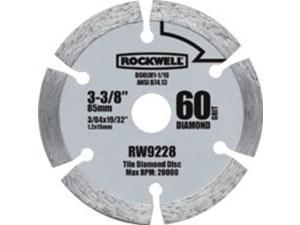Rockwell RW9228 Diamond-Grit Blade 3-3/8-Inch - Each