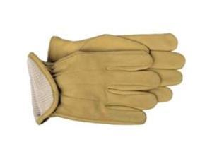 Boss Mfg Co 6133L Glove Lined Grain Leather, Large