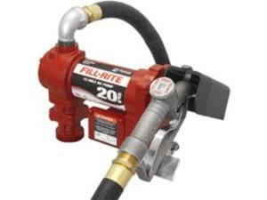 FR4210D Tuthill/FillRite 12vDC 20 GPM Pump Gasoline/Diesel Fuel Transfer Tank Pump