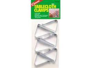 Coghlan's 527 Rust Resistant Spring Steel Tablecloth Clamps Pack Of 6
