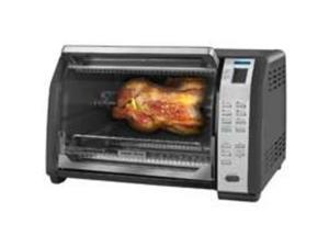 B&D6 Slice Toaster Oven Broil