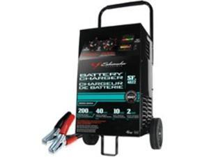 Chrg Batt 2-12Hr 4Batt 120Vac SCHUMACHER Battery Chargers SF-4022 Steel