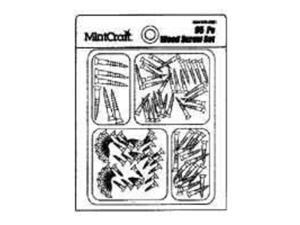 Scr Set Wood 95Pc F/ Lt Dty MINTCRAFT Fastener Assortments JL82101 045734987296