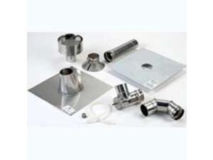 Bosch Thermotechnology ES VVT 3 in. Stainless Steel Vertical Vent Kit