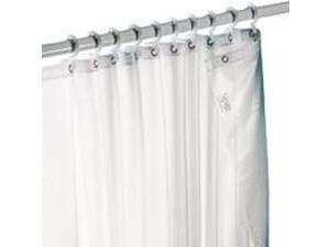 Fabric Liner Taupe ZENITH PRODUCTS Misc. Shower Hardware H20BB 043197118332