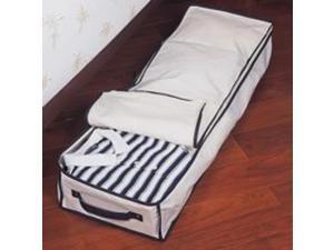 Homebasix C0946JF5000 Canvas Underbed Storage -Box Under Bed - Canvas - Each