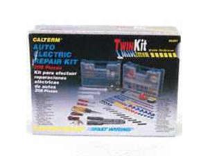 Calterm Inc 5207 Auto Electronic Repair Kit Electric Repair 208-Piece + 4 Tools