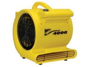 Fan Carpet 4000Cfm 1Hp Yel VENTAMATIC LTD. Misc. Fans HVCF 4000 Yellow