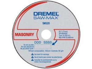 SM520C 3 in. Masonry Cut-Off Wheels (3-Pack)