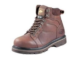 "Work Boot 6"" St Toe Fl Gr 7.5M DIAMONDBACK Boots - Leather Steel Toe"