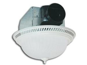 Air King America DRLC703 70 CFM Bath Fan Combo, White TrimGrill is 13-1/2 in. di