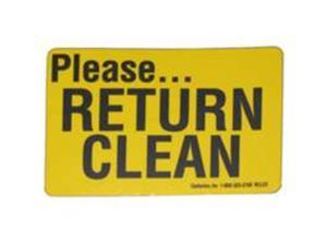 Return Clean Decal CENTURION INC Misc Supplies RCL23 701844124203